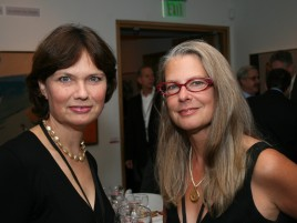 PAAM gala Jean Fogg-Brock, Polly Brunell