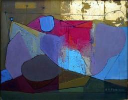 Remo Farruggio painting