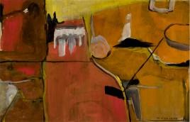 Miriam Freed painting