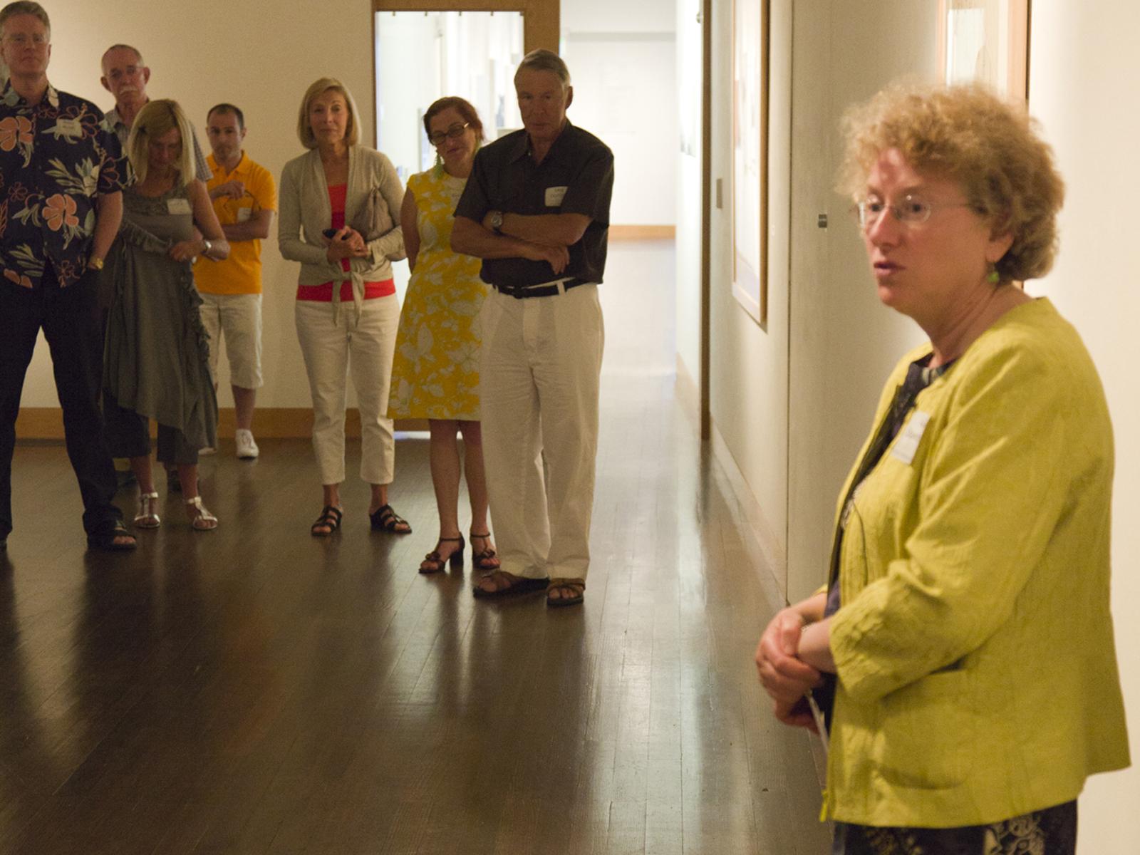 PAAM Circle event Gail Levin, Phyllis Goldman, Terry Keane,