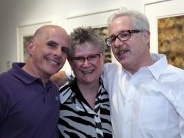 PAAM Circle eevent Brian Koll, Sheila McGuinness, Stewart Tabakin