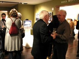 PAAM Circle event Burt Wolfman, Brian Hyde