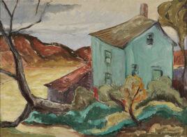 Oscar Gieberich, Landscape, PAAM Collection