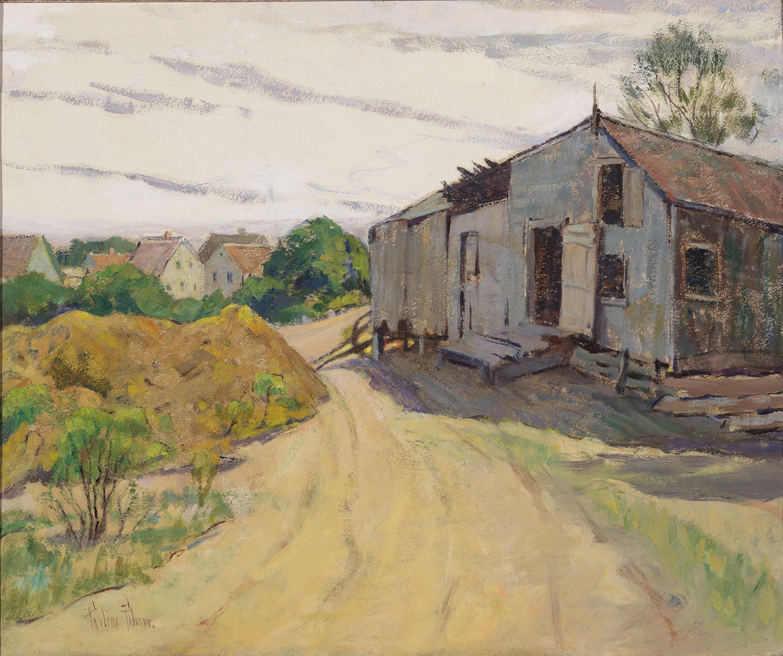 Pauline Palmer, Watson's Barn, PAAM Collection