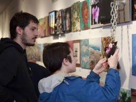 inspecting-Paul-Cezanne's-piece 2012 12x12