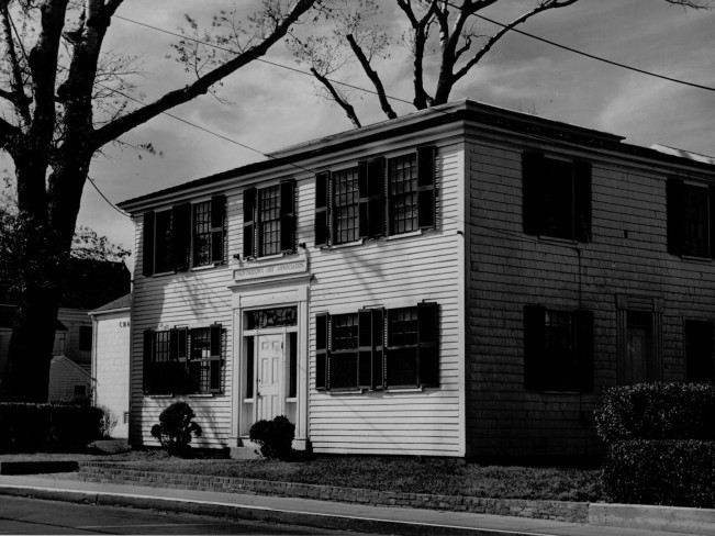 archival image of the museum's exterior