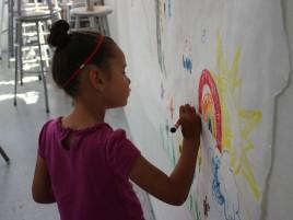 CAA drawing on the wall