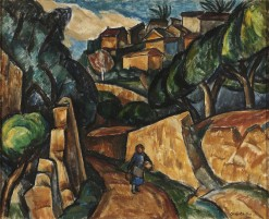 Chaffee, Oliver N, La Gaude, Orange Trees, copy