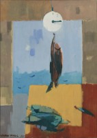 Maril, Herman, Good Catch, 1967, oil on canvas, 40 x 29 in copy
