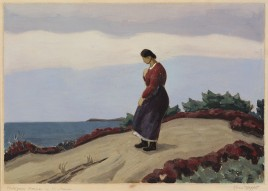 Moffett, Ross E, Portugese Woman in the Dunes, 2212.020 copy
