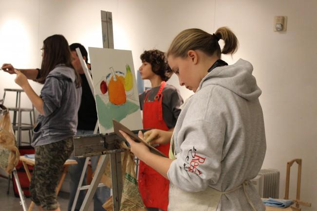 kaleigh painting art reach