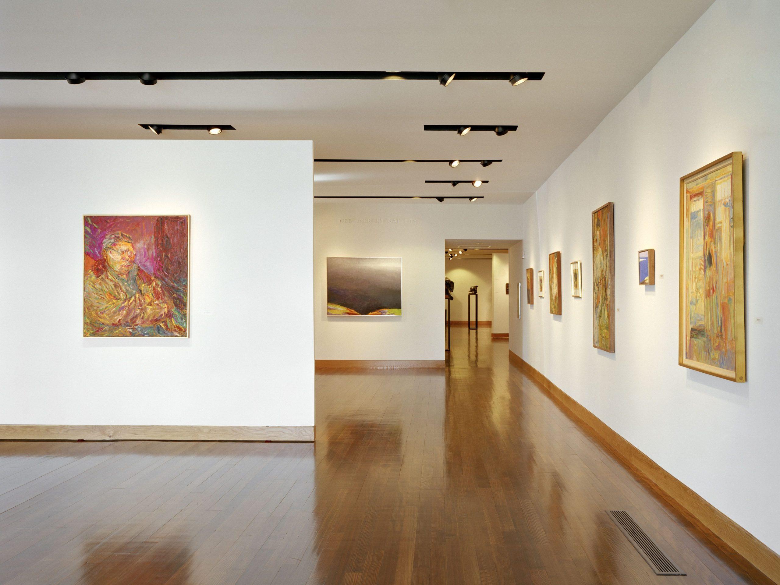 Interior shot of the Patrons Jalbert Galleries