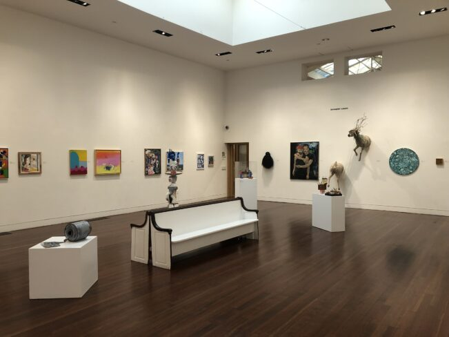 Members' Juried exhibition at PAAM, Fall 2021
